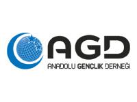 AGD Anadolu Gençlik Derneği Logo on Mic Sponge