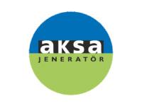 Aksa Jeneratör Logo on Mic Sponge