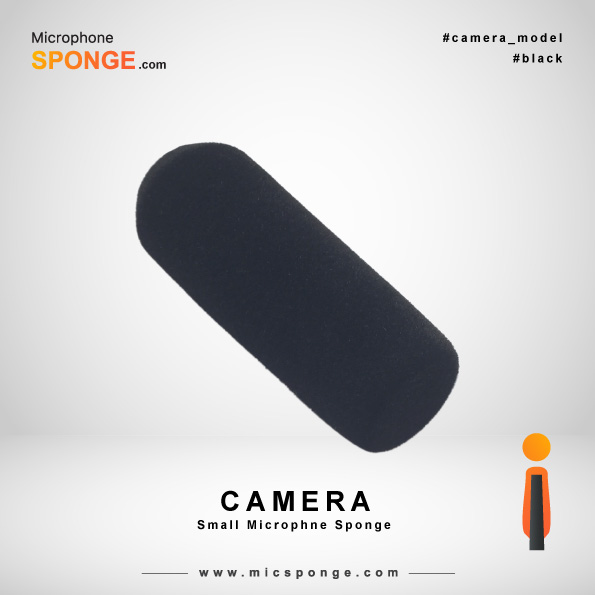 Camera Black Microphone Sponge