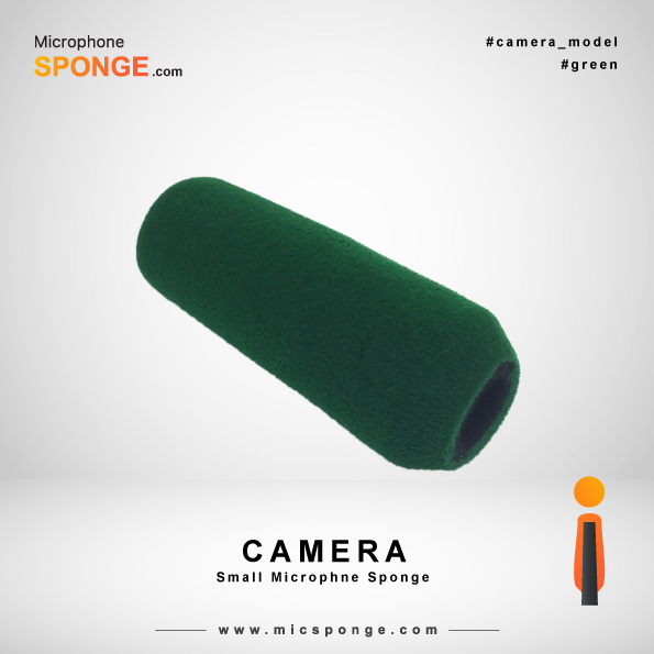 Green Camera Microphone Sponges