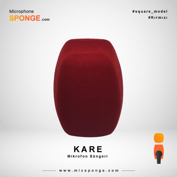 Kare Mikrofon Süngeri