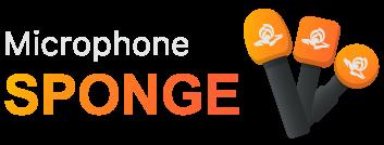 Microphone Sponge with Logo