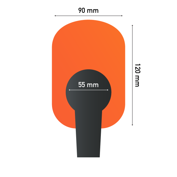 Sizes of Cylinder Microphone Sponge
