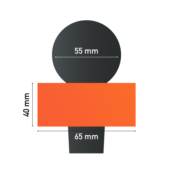 Sizes of Square Earring Microphone Sponge