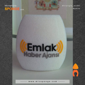 Mic sponge cover Emlak Haber Ajansi Logo