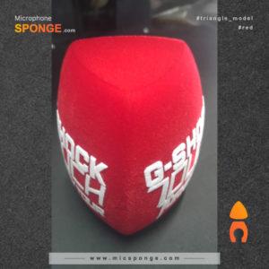 Mic sponge cover G- Shock touch Turkey Logo