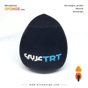 Mikrofon süngeri TRT عربي logolu Başlığı