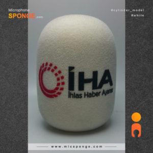 Mikrofon süngeri iHA logolu Rüzgar