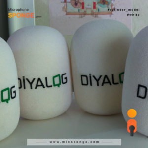 mic sponge cover Diyalog Logo