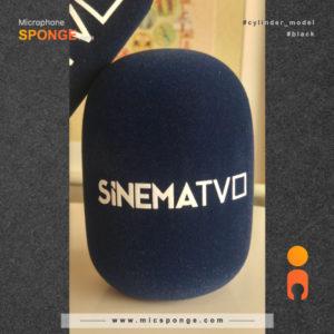 mic sponge cover Sinema Logo