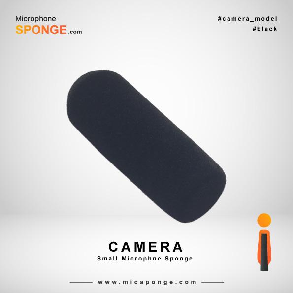 Camera Black Microphone Sponge