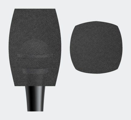 Square Microphone Sponge