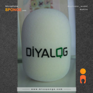 Microphone cover Diyalog Logo