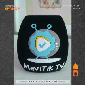 Microphone covers Mavitik TV Logo