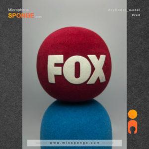 Microphone sponge cover FOX Logo