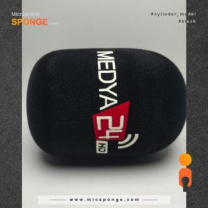 Microphone sponge cover Medya 24 Logo
