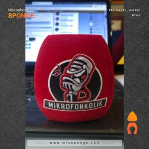 Microphone sponge cover Mikrofon Kolik Logo