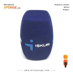 Mikrofon süngeri işkur logolu Başlığı