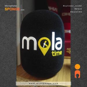 mic sponge cover Mola Time Logo